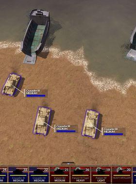 Battle Fleet: Ground Assault Key Art