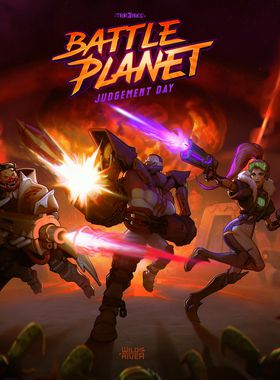 Battle Planet - Judgement Day Key Art