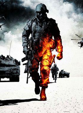 Battlefield: Bad Company 2 Key Art