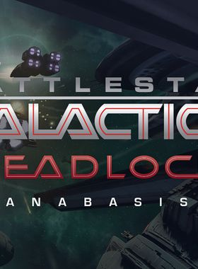 Battlestar Galactica Deadlock: Anabasis Key Art