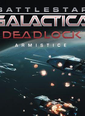 Battlestar Galactica Deadlock: Armistice Key Art