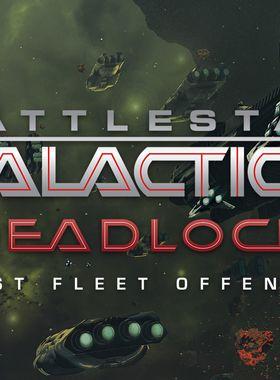 Battlestar Galactica Deadlock: Ghost Fleet Offensive Key Art