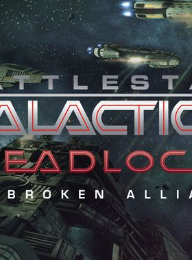 Battlestar Galactica Deadlock: The Broken Alliance Key Art