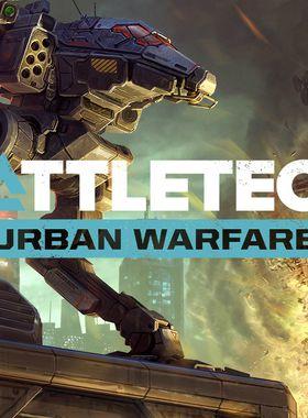 BattleTech Urban Warfare Key Art