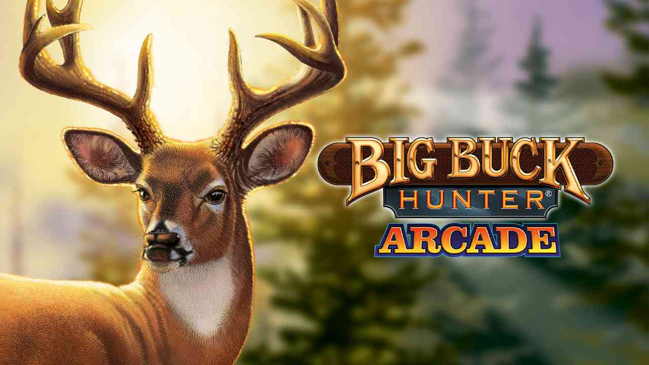 Big Buck Hunter Arcade Background Image