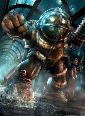 BioShock Key Art