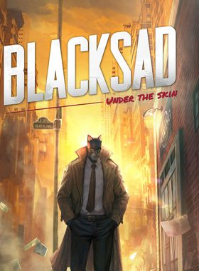 Blacksad: Under the Skin Key Art