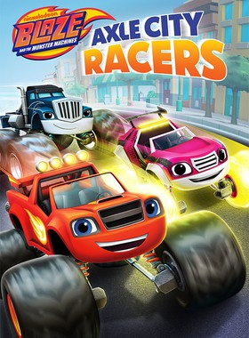 Blaze and the Monster Machines: Axle City Racers Key Art