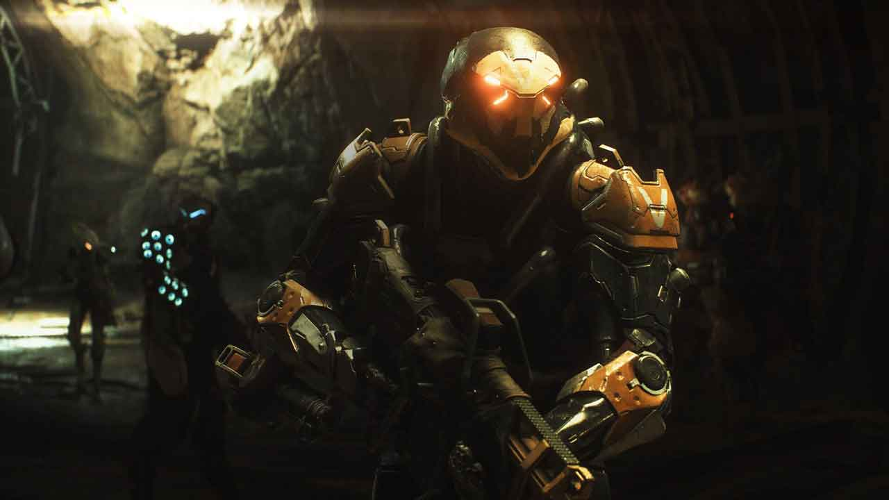 Kick-ass in Anthem's Javelin suits