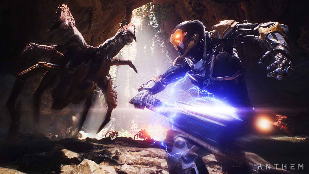 Anthem's otherworldly new gameplay
