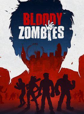 Bloody Zombies Key Art