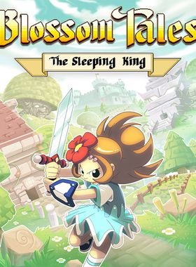 Blossom Tales: The Sleeping King Key Art