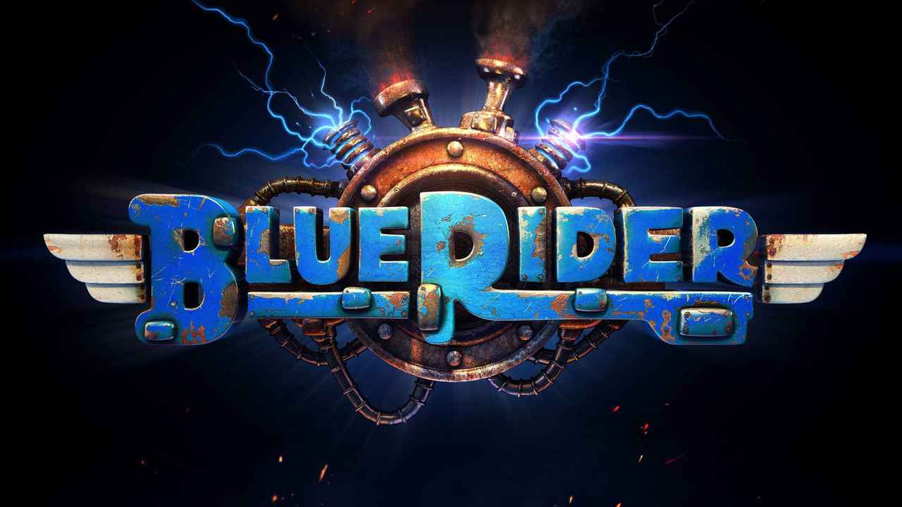 Blue Rider Background Image