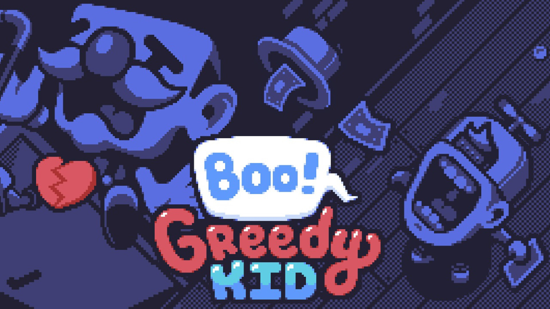 Boo! Greedy Kid Video