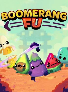 Boomerang Fu Key Art
