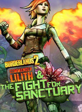 Borderlands 2: Commander Lilith & the Fight for Sanctuary Key Art