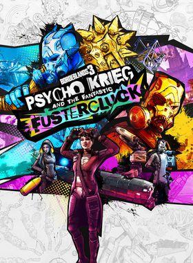 Borderlands 3: Psycho Krieg and the Fantastic Fustercluck Key Art