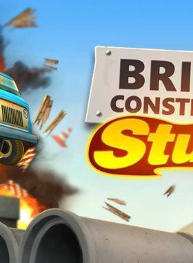 Bridge Constructor Stunts Key Art