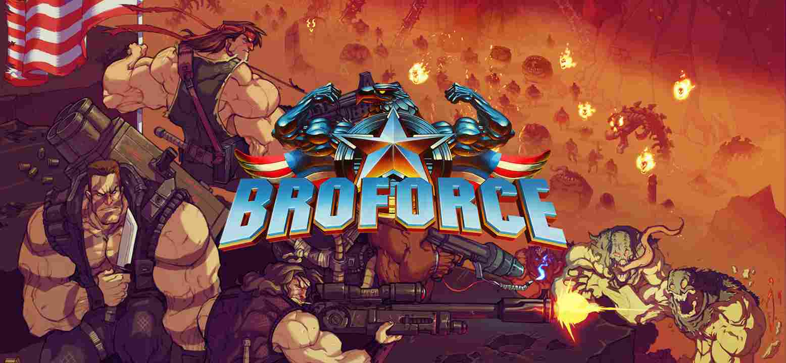 Broforce Key Art