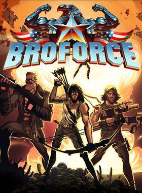 Broforce Key Art