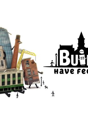 Buildings Have Feelings Too! Key Art