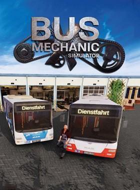 Bus Mechanic Simulator Key Art