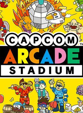 Capcom Arcade Stadium Key Art
