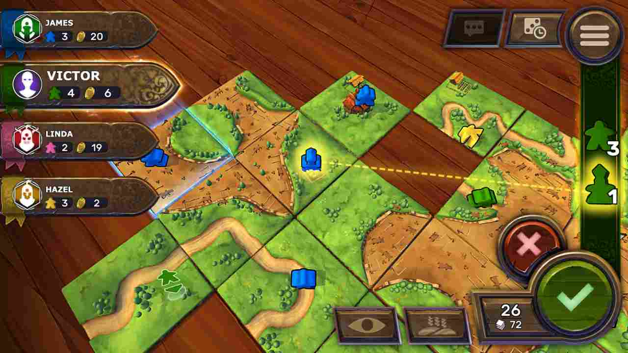 Carcassonne - Tiles & Tactics Thumbnail
