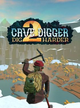 Cave Digger 2: Dig Harder Key Art