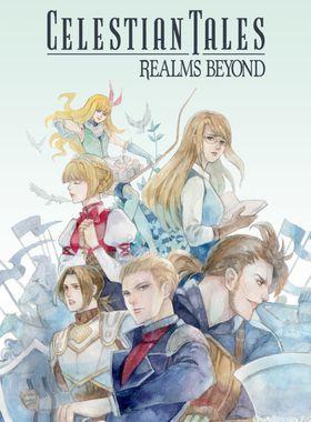 Celestian Tales: Realms Beyond Key Art