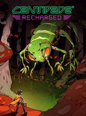 Centipede: Recharged Key Art