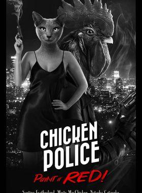 Chicken Police Key Art