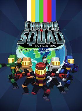 Chroma Squad Key Art