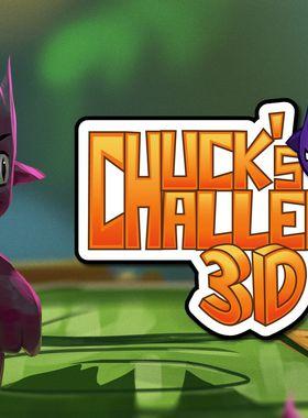 Chuck's Challenge 3D Key Art