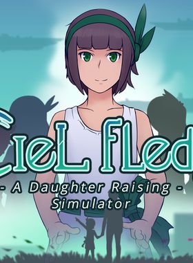 Ciel Fledge: A Daughter Raising Simulator Key Art