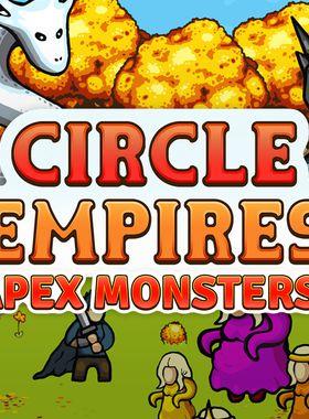 Circle Empires: Apex Monsters! Key Art