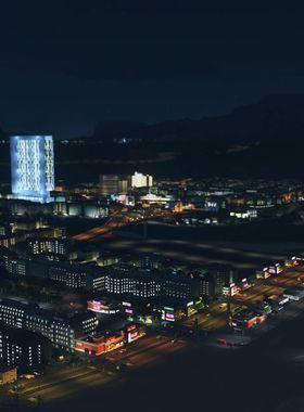 Cities: Skylines - After Dark Key Art