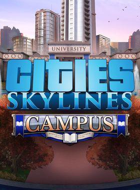 Cities: Skylines - Campus Key Art