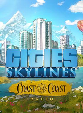 Cities: Skylines - Coast to Coast Radio Key Art
