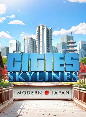 Cities: Skylines - Content Creator Pack: Modern Japan Key Art