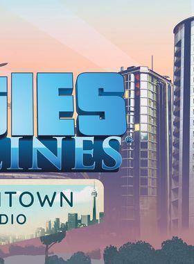 Cities: Skylines - Downtown Radio Key Art