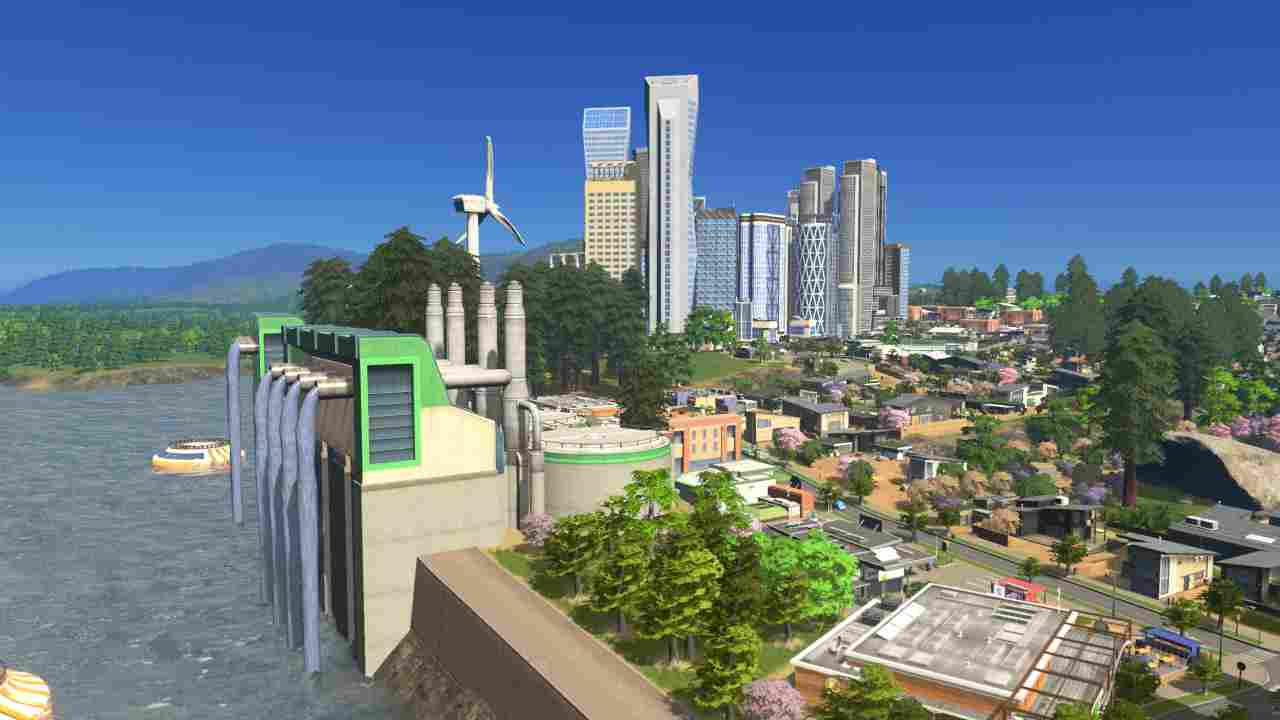 Cities: Skylines - Green Cities Background Image