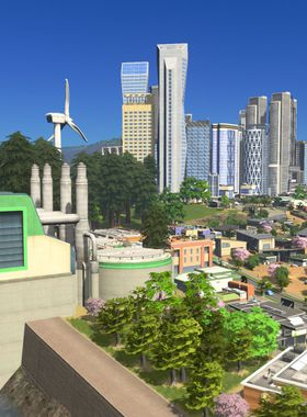 Cities: Skylines - Green Cities Key Art