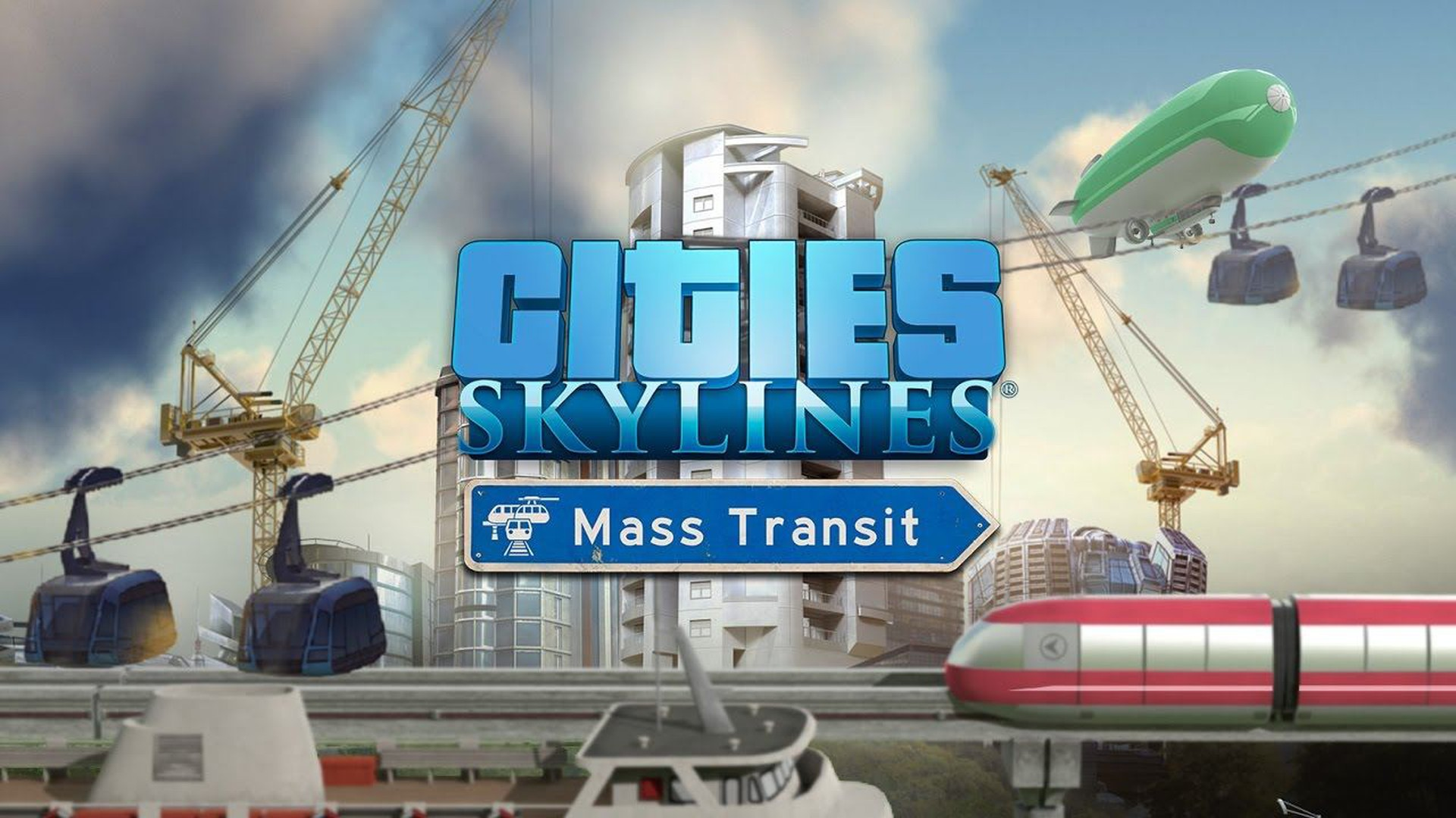 Cities: Skylines - Mass Transit Video