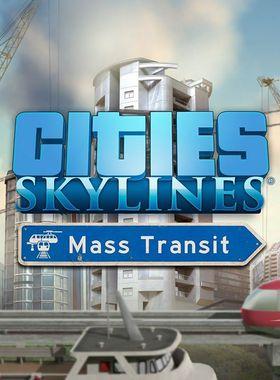 Cities: Skylines - Mass Transit Key Art