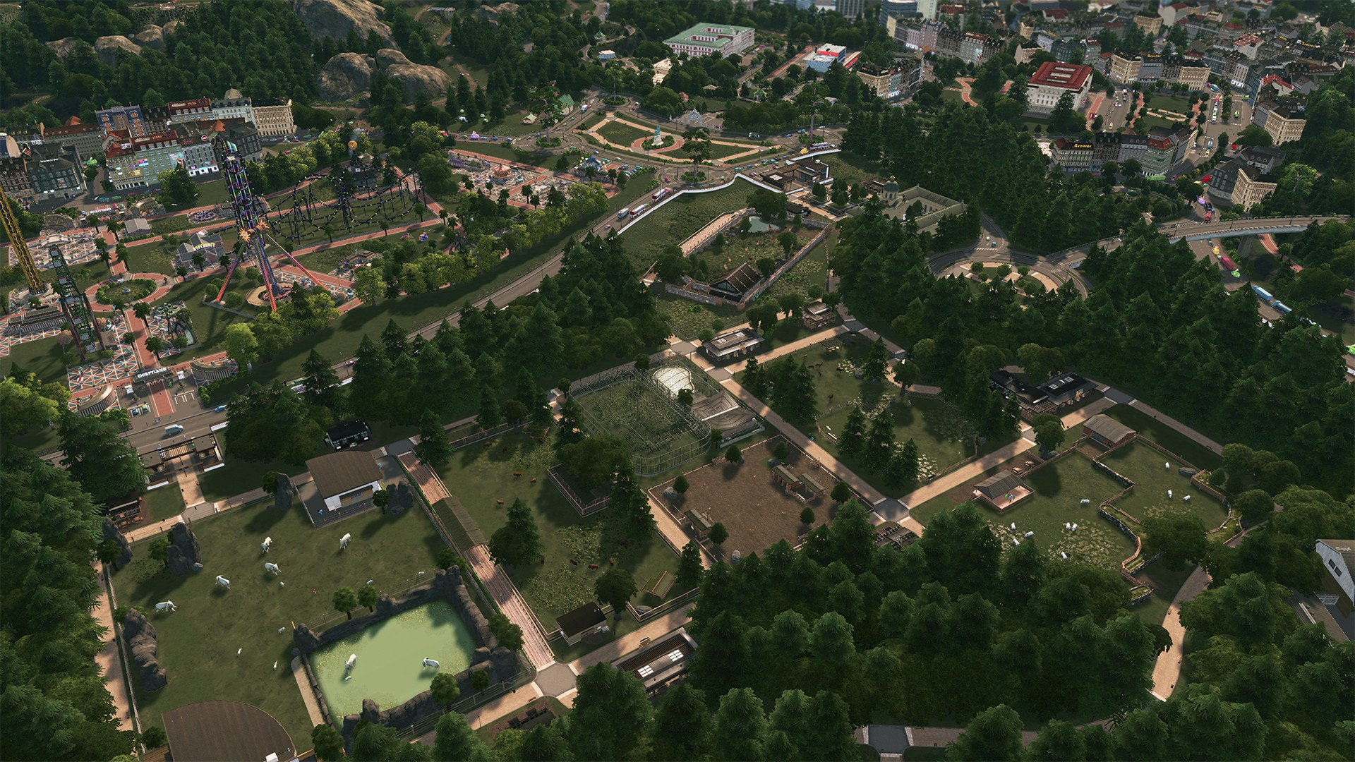 Cities: Skylines - Parklife Video