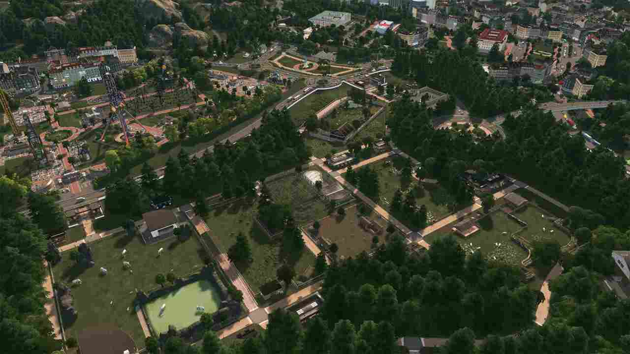 Cities: Skylines - Parklife Background Image