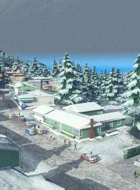 Cities: Skylines - Snowfall Key Art