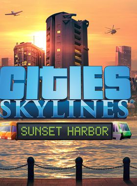 Cities: Skylines - Sunset Harbor Key Art