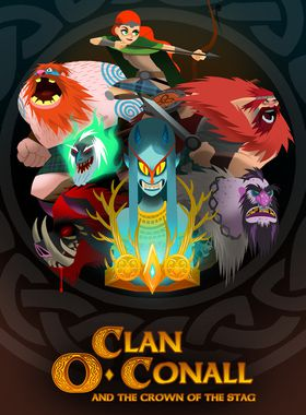Clan O'Conall and the Crown of the Stag Key Art